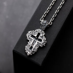 Подвеска Pixel Crucifix Chain
