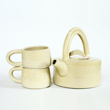 Load image into Gallery viewer, Ash Glaze Tea Set for 2