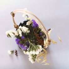 Load image into Gallery viewer, Ikebana Flower Basket with Cane Handle