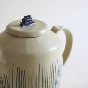 Eggshell Hand Painted Teapot - Jenni Oh Crafts