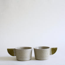 Load image into Gallery viewer, Ash Glaze Espresso Coffee Cup Set for 2