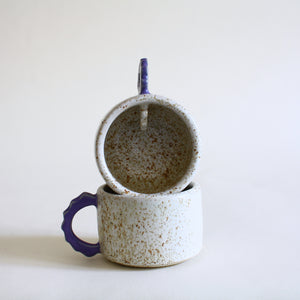 Speckled Coffee Cup Set for 2