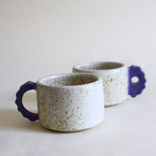 Load image into Gallery viewer, Speckled Coffee Cup Set for 2