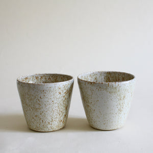 Speckled Ceramic Tea Set for 2