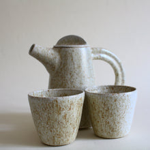 Load image into Gallery viewer, Speckled Ceramic Tea Set for 2