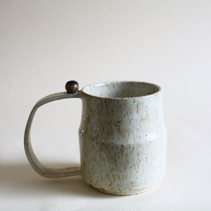 Large Speckled Mug with Extra Large Handle