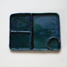 Load image into Gallery viewer, MADE TO ORDER Rectangular Sectional Bento Thali Plates