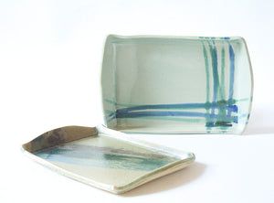 Rectangular serving dishes