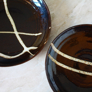MADE TO ORDER: Oil Modern Plates - Jenni Oh Crafts