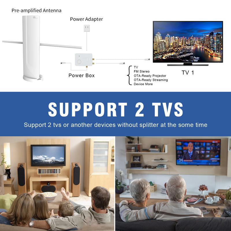 Booming TV Antenna