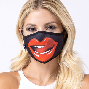 Lip n Tongue 3-Layered Face Mask