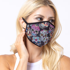 Skull Multi 3-Layered Face Cover-PM0030