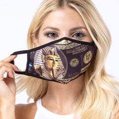 Egyptian 3-Layered Face Cover-PM0220