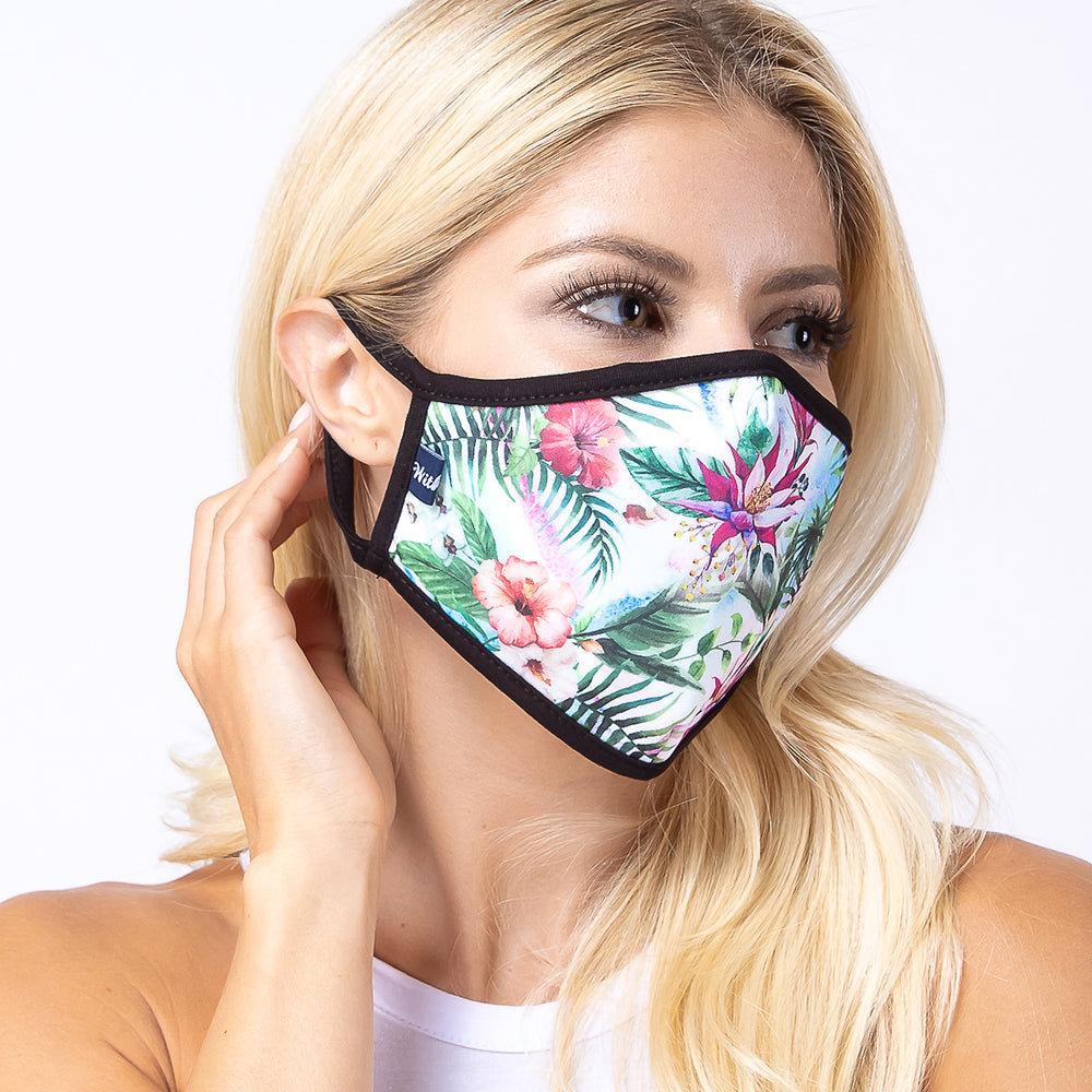 Tropical 3-Layered Face Mask