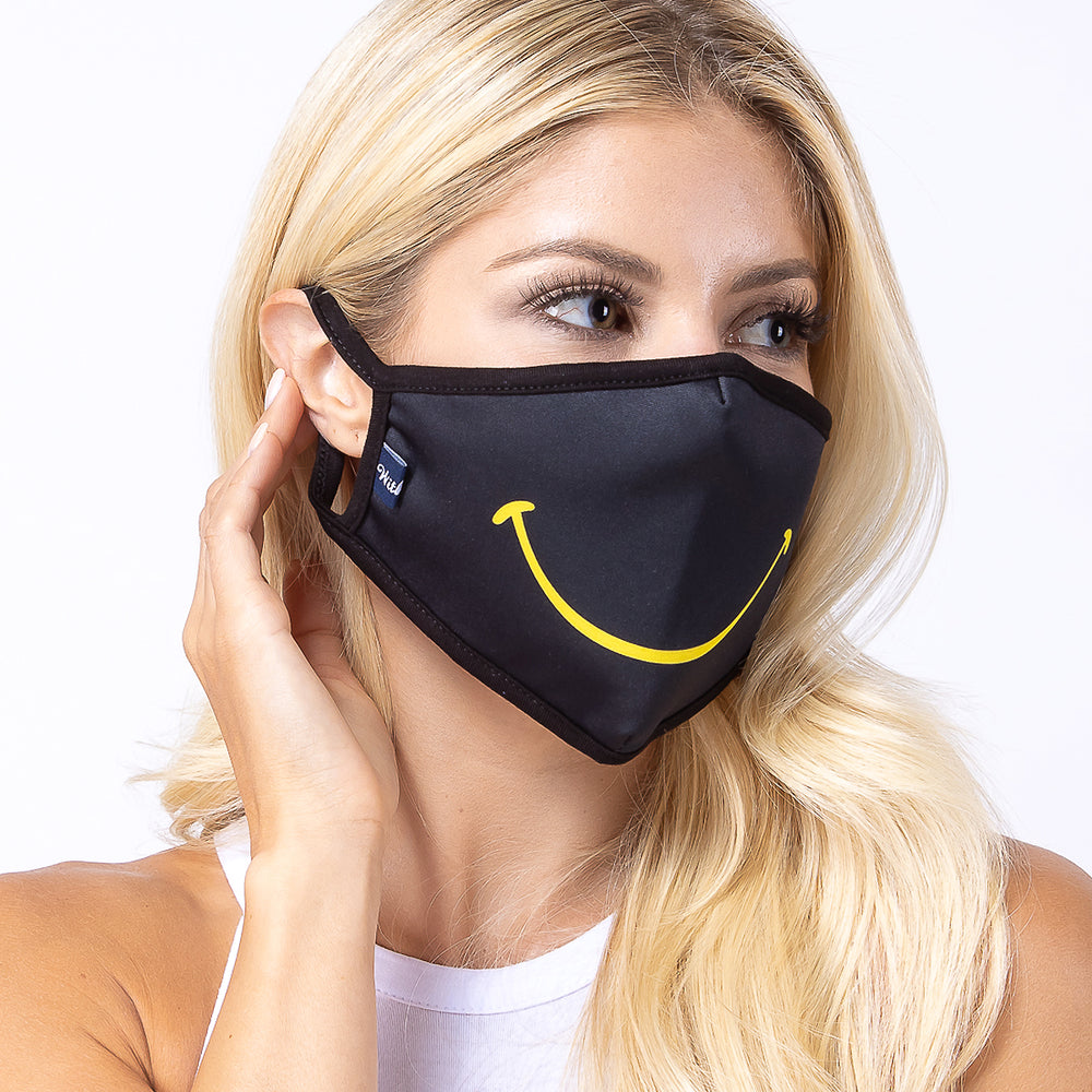 Smile 3-Layered Face Mask-PM0056