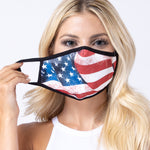American Flag 3-Layered Face Mask