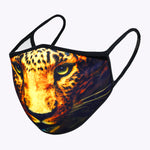 Black Tiger 3-Layered Face Mask