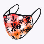 Pirate Multi Checker 3-Layered Face Mask-PM0141