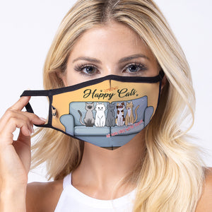 Happy Cat 3-Layered Face Mask-PM0270