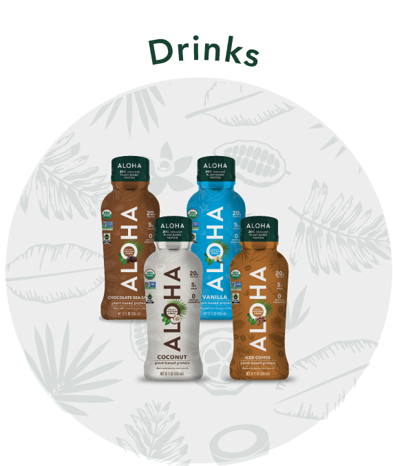 ALOHA Plant-Based Protein Drinks