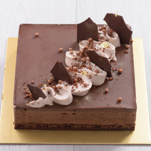 Load image into Gallery viewer, Dark Chocolate Mousse Cake