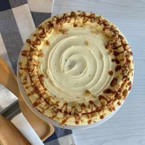Load image into Gallery viewer, Salted Caramel Carrot Cake