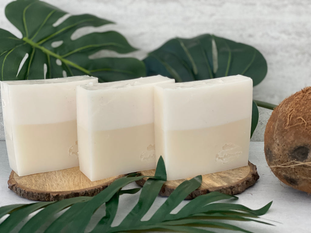 Coconut Cream Bar Soap