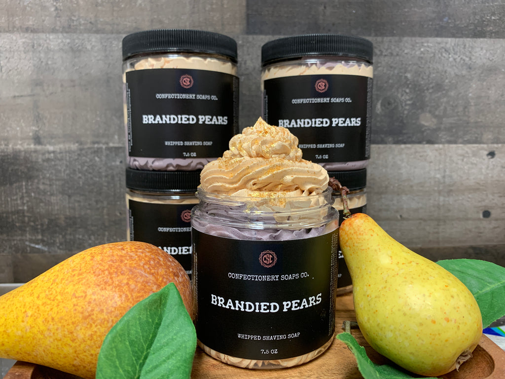 Brandied Pears (Whipped)