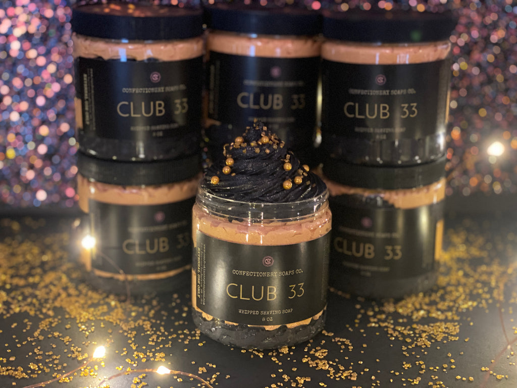 Club 33  Whipped Soap