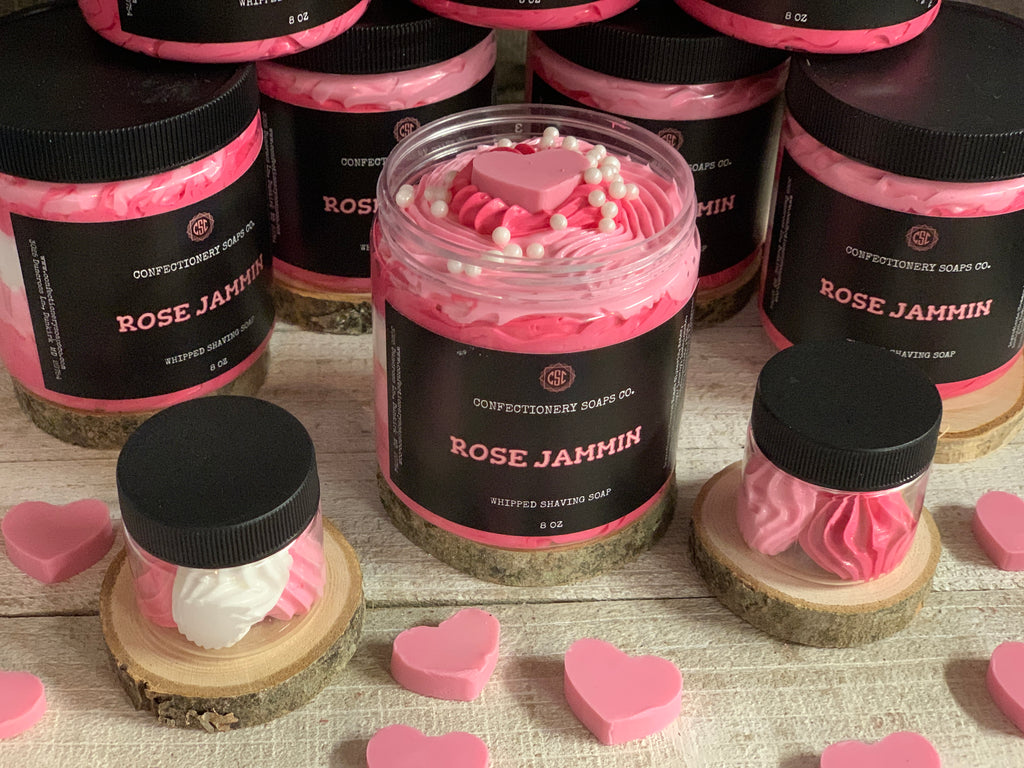 Rose Jammin (Whipped)