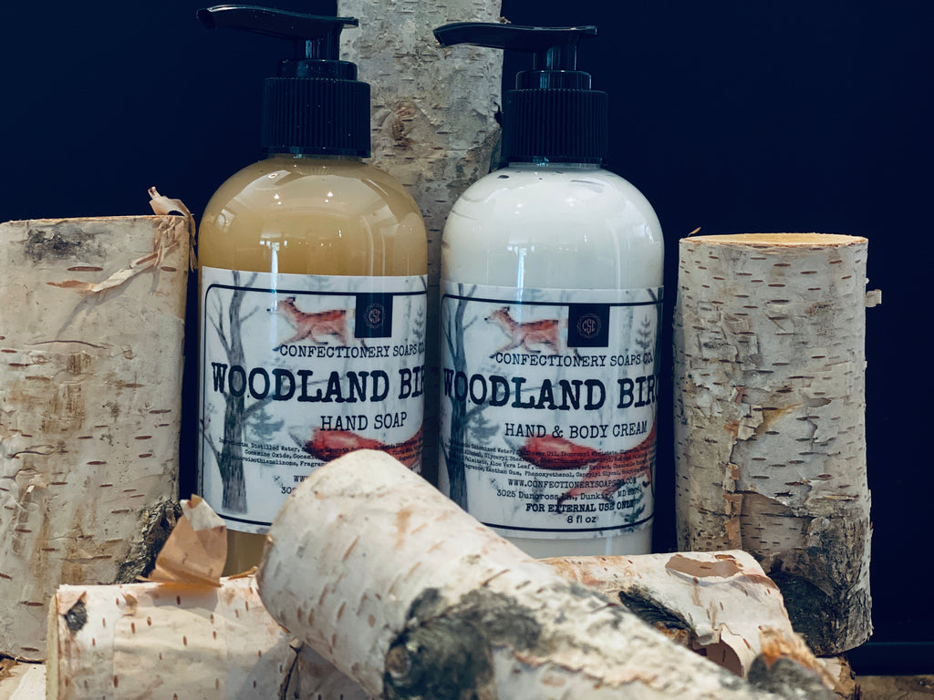 Woodland Birch Hand Soap & Lotion Duo