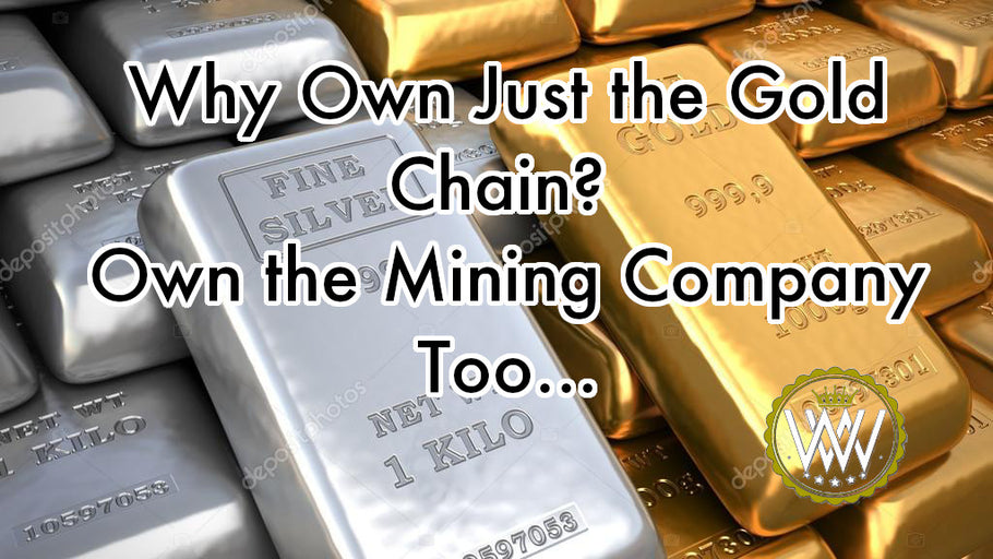Hustle Tips: Why Own Just the Gold Chain? Own the Mining Company Too...