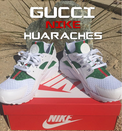 Gucci Custom Colorway Nike Huaraches