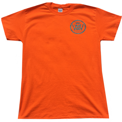 WW Hustle Brand Logo T Shirt