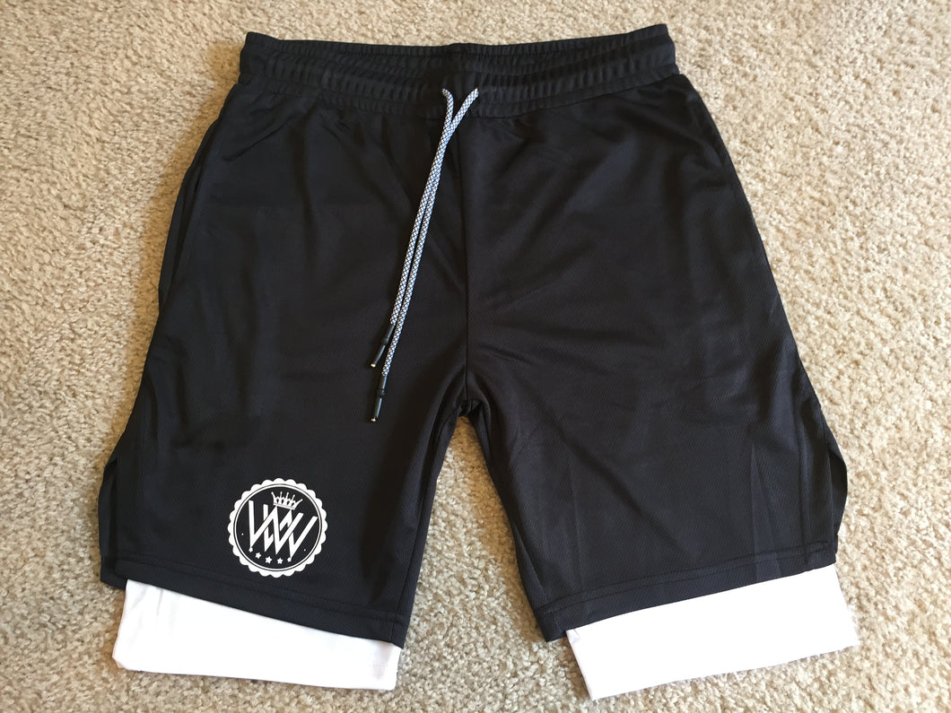WW Hustle Brand Gym Shorts