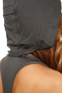 Made To Hustle Sports Bra Hoodie