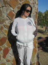 Load image into Gallery viewer, WW Hustle Brand Leopard Set White