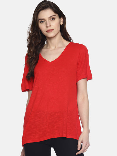 Hot Red T-Shirt - Studio Y