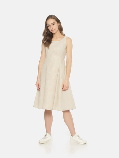 Side Pleat Dress - Studio Y