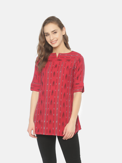 Basic Tunic - Red - Studio Y