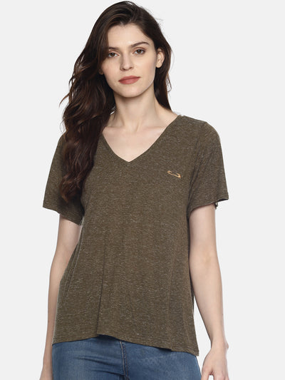 Olive Green T-Shirt - Studio Y