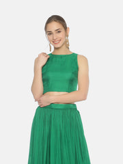 Shamrock Green Blouse - Studio Y