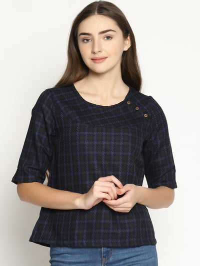 Yoke Buttons Top - Studio Y