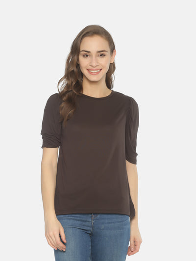 Brown T-Shirt - Studio Y