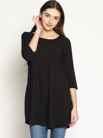 Black Tuck Tunic - Studio Y