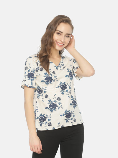 Frill Sleeve Top - Studio Y