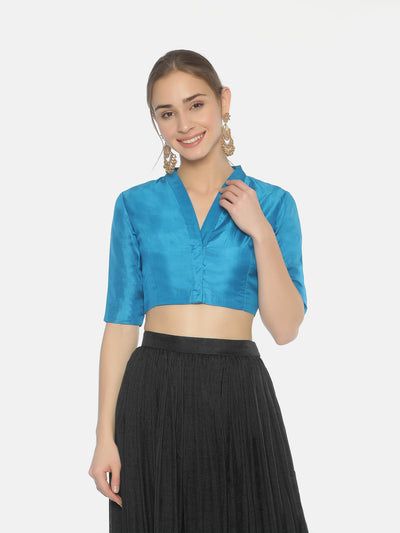 True Blue Blouse - Studio Y