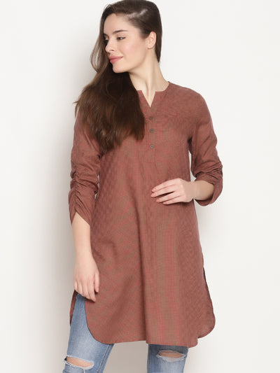 Tiny Checks Tunic - Studio Y