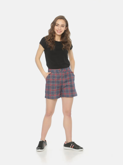 Checkered Shorts - Studio Y