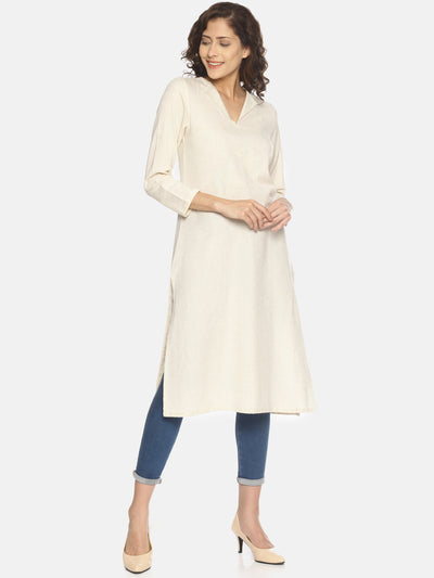 Flap Neck Kurta - Studio Y